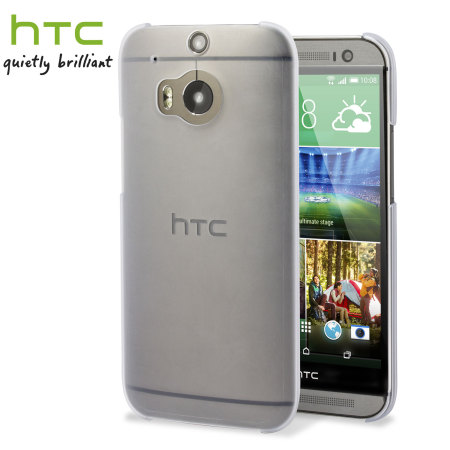 Official HTC One M8 / M8s Translucent Hard Shell Case
