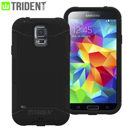Trident Aegis Case for Samsung Galaxy S5 - Black