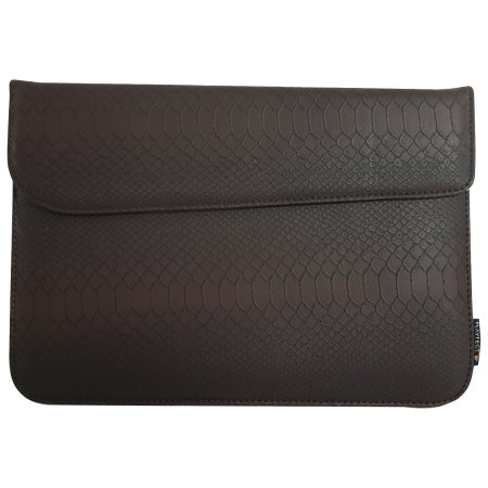 PlayFect Classy Universal 10 inch Envelope Tablet Case - Snake Brown