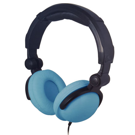 BITnSound On-Ear Headphones with Microphone - Light Blue Edition