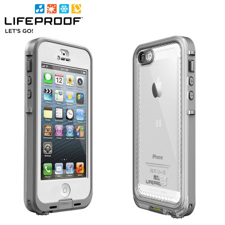 release date: 9c887 0c0c6 LifeProof Nuud Case for iPhone 5 - White