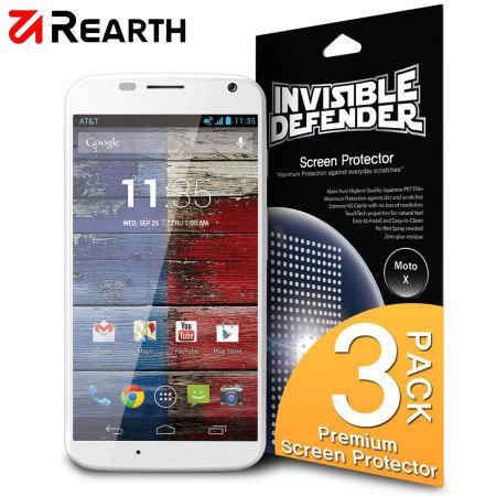3 Protections d'écran Motorola Moto X Rearth Defender