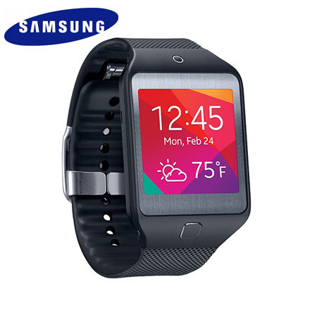 Samsung Gear 2 Neo Smartwatch Black 44242 on samsung galaxy s4 screen