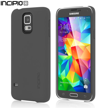 Incipio Feather Case for Samsung Galaxy S5 - Grey