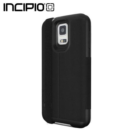 Incipio Watson with Black Strap for Samsung Galaxy S5 - Black