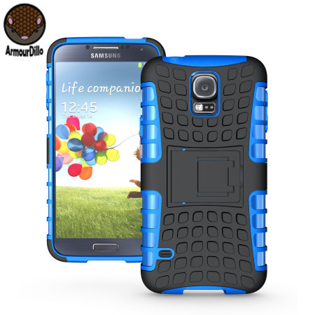 samsung galaxy s5 phone cases. armourdillo hybrid protective case for samsung galaxy s5 - blue phone cases a