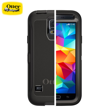 best sneakers fb17c 04f1c OtterBox Defender Series Samsung Galaxy S5 Protective Case - Black