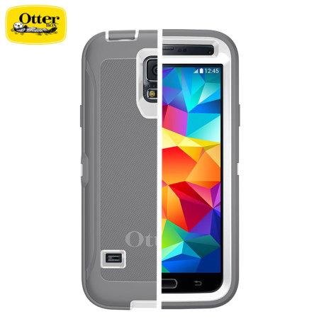 reputable site 54bc6 54042 OtterBox Defender Series Samsung Galaxy S5 Protective Case - Glacier