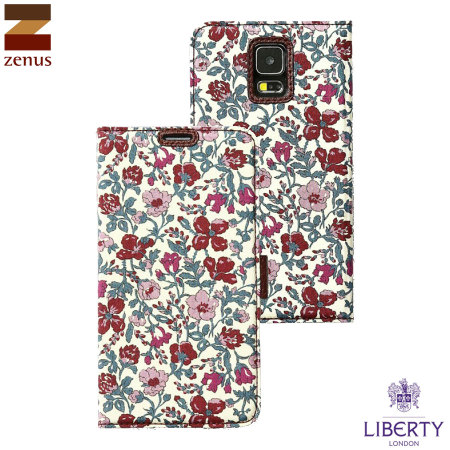 Zenus Liberty of London Galaxy S5 Diary Case - Violet Meadow
