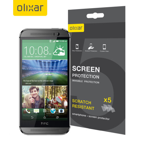 Olixar HTC One M8 Screen Protector 5-in-1 Pack