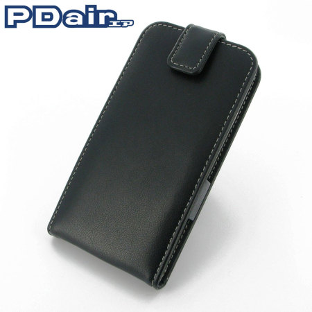 sale retailer 6a44b 9897e PDair Leather Flip Top Samsung Galaxy S5 Case - Black