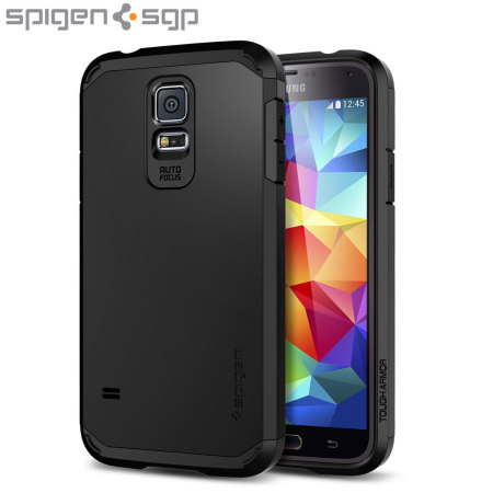 Spigen Tough Armor Case for Samsung Galaxy S5 - Black
