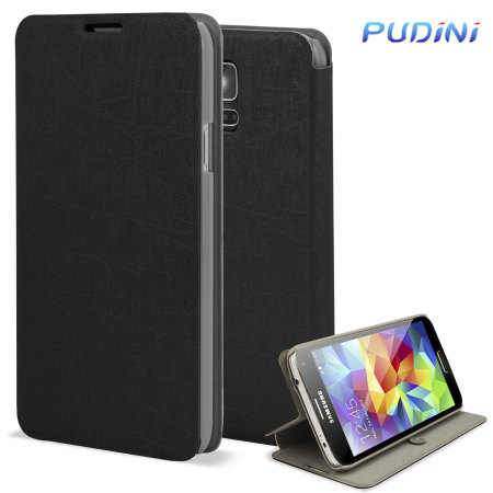 Housse samsung galaxy s5 pudini flip and stand noire avis for Housse samsung s5