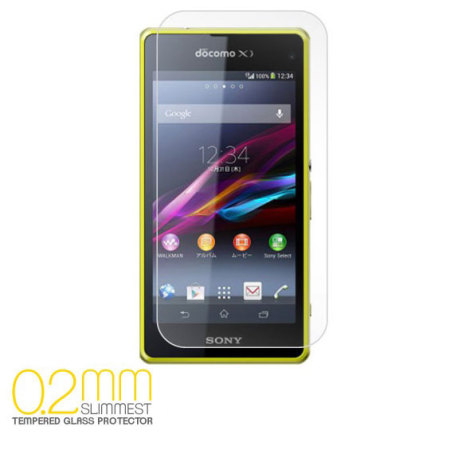 0.2mm Premium Tempered Glass Screen Protector for Xperia Z1 Compact