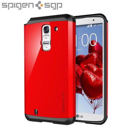 Spigen Slim Armor LG G Pro 2 Case - Crimson Red