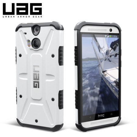 new arrival 46fca b8429 UAG Navigator HTC One M8 Protective Case - White