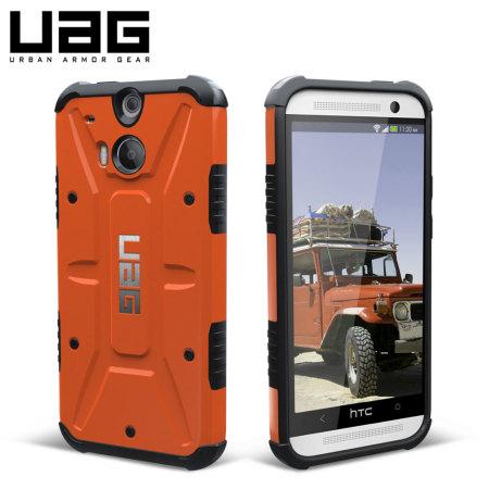 newest bb330 73b66 UAG Outland HTC One M8 Protective Case - Orange