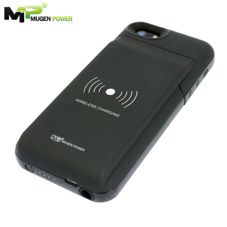 competitive price 52ae0 6d042 Mugen iPhone 5S / 5 Qi Extended Battery Case 3150mAh - Black