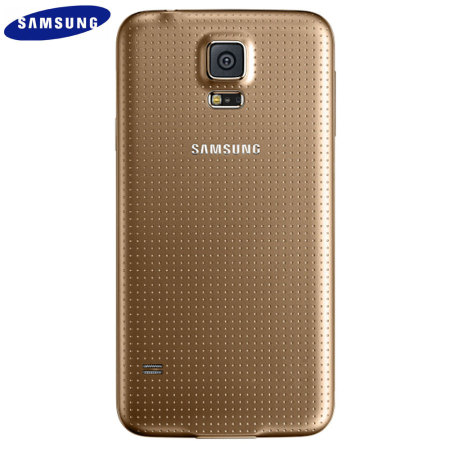 official samsung galaxy s5 back cover copper gold. Black Bedroom Furniture Sets. Home Design Ideas