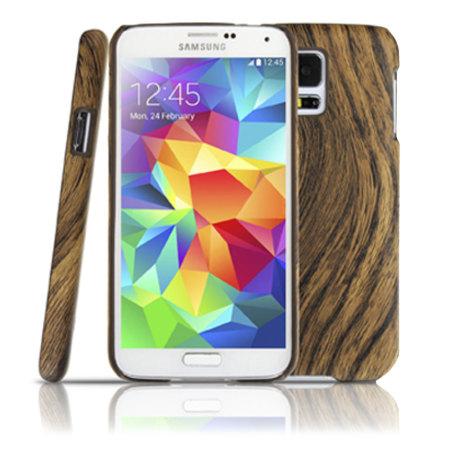 cheaper b690b 5266d Wood Effect Samsung Galaxy S5 Hard Case