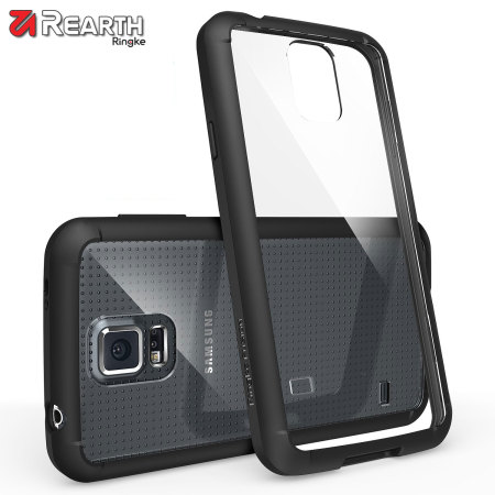 Rearth Ringke Fusion Samsung Galaxy S5 Case - Black / Clear