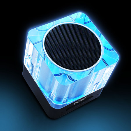 Altavoz Bluetooth Olixar Light Cube