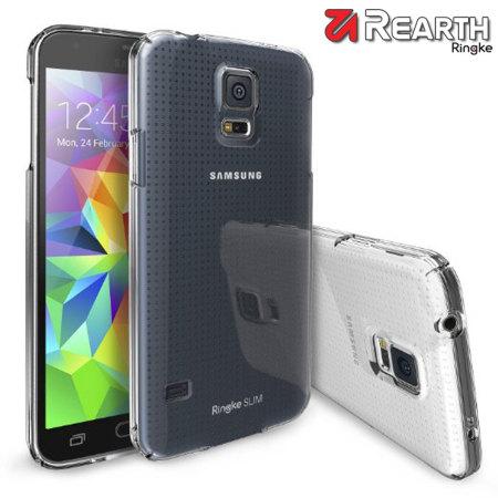 Rearth Ringke Slim Samsung Galaxy S5 Case - Crystal