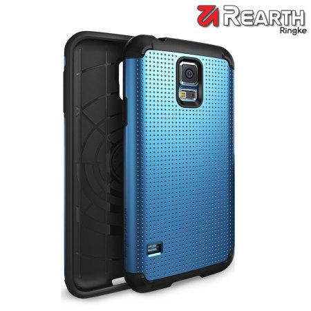 best website 264be de593 Rearth Ringke Samsung Galaxy S5 Heavy Duty Armor Case - Blue