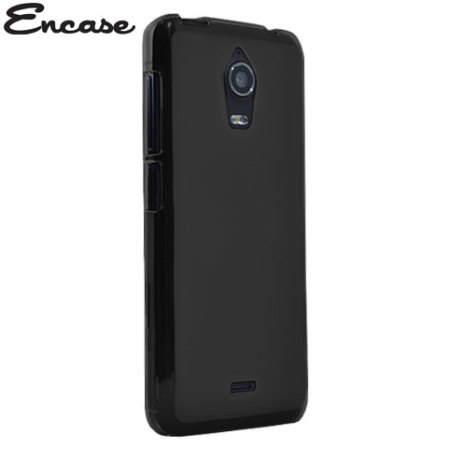 Encase FlexiShield Wiko Wax Case - Black