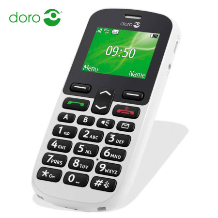 Sim Free Doro PhoneEasy 508 Unlocked - White