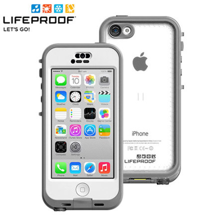 outlet store 89102 14856 LifeProof Nuud iPhone 5C Case - White / Grey