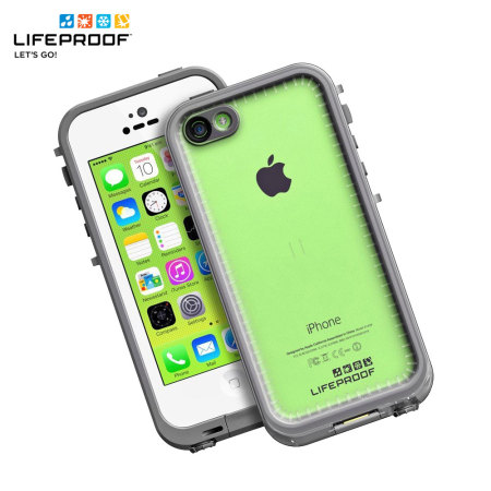 LifeProof Fre iPhone 5C Case - Grey / Clear