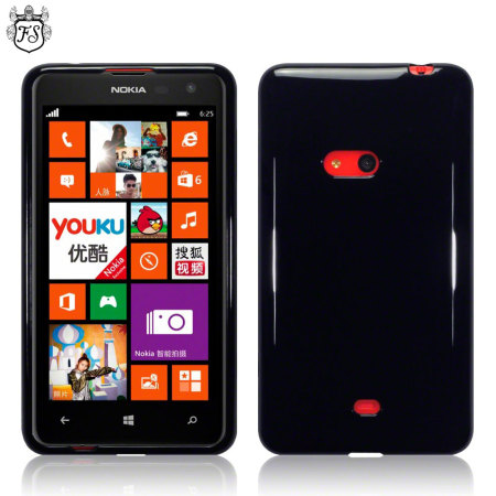 FlexiShield Nokia Lumia 625 Gel Case - Black