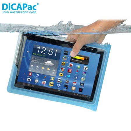 DiCAPac Universal Waterproof Case for Tablets up to 10 1