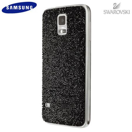 pretty nice 9473f 4d88e Official Samsung Galaxy S5 Swarovski Studded Back Cover - Black