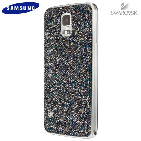 low priced 98717 d4487 Official Samsung Galaxy S5 Swarovski Studded Back Cover - Silver