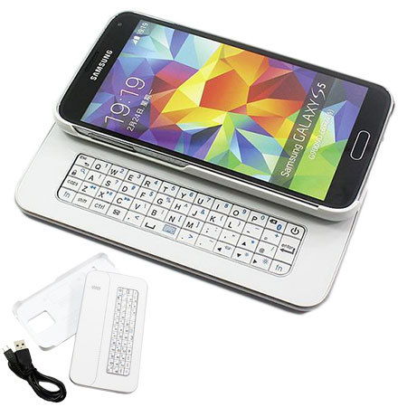 Galaxy S5 Slide-out Bluetooth QWERTY keyboard