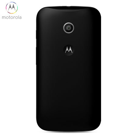 cheap for discount a9b07 32d7a Official Motorola Moto E Shell Replacement Back Cover - Black