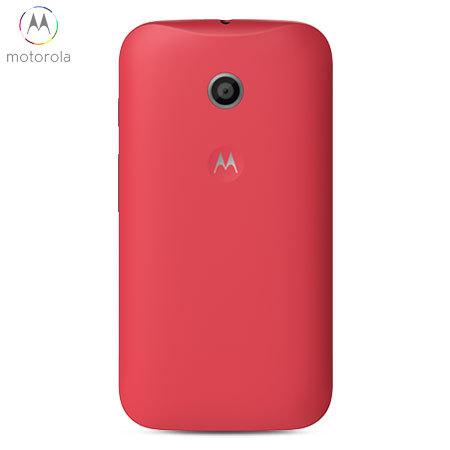 pretty nice 1a25a 7e779 Official Motorola Moto E Shell Replacement Back Cover - Cherry