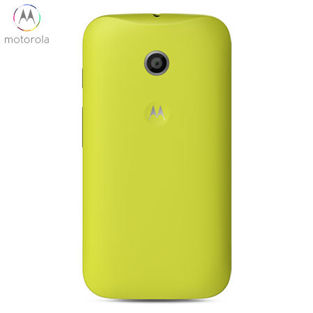 finest selection 8c784 bc791 Official Motorola Moto E Shell Replacement Back Cover - Lemon Lime