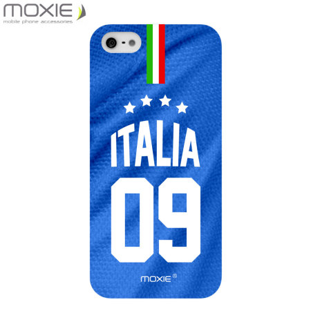 World Cup iPhone 5S / 5 Football Shirt Case - Italy