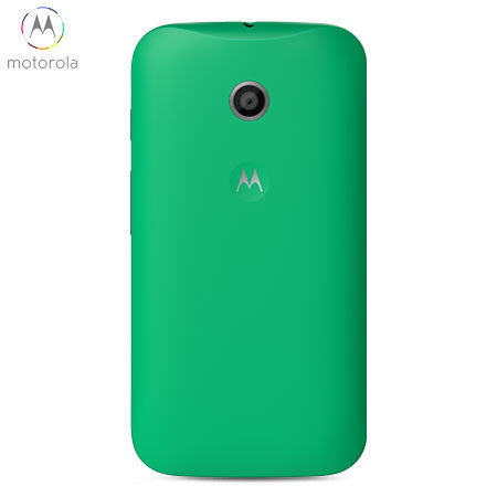 buy popular 04311 822b8 Official Motorola Moto E Shell Replacement Back Cover - Green