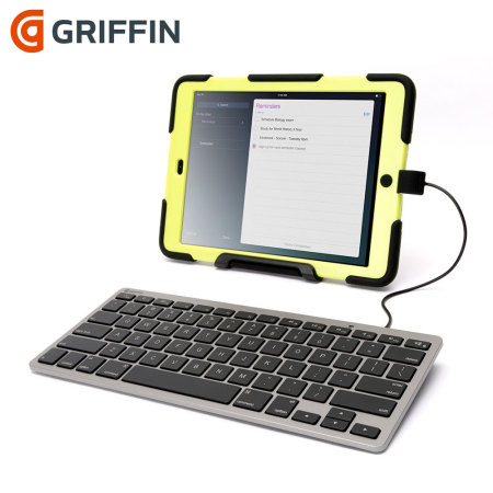 griffin wired keyboard for apple lightning devices. Black Bedroom Furniture Sets. Home Design Ideas