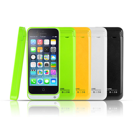 iphone 5c yellow iphone 5c power jacket 2200mah yellow 11151