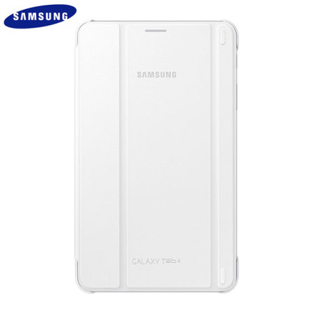 Official Samsung Galaxy Tab 4 8.0 Book Cover - White