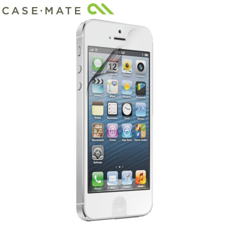 Case-Mate iPhone 5S / 5 Screen Protector Twin Pack