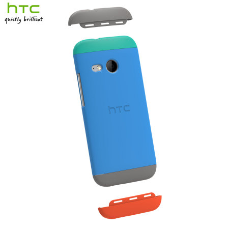 Official HTC One Mini 2 Double Dip Hard Shell - Blue and Green