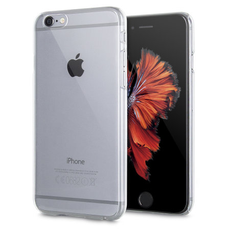 encase polycarbonate iphone 6s / 6 shell case - 100% clear reviews