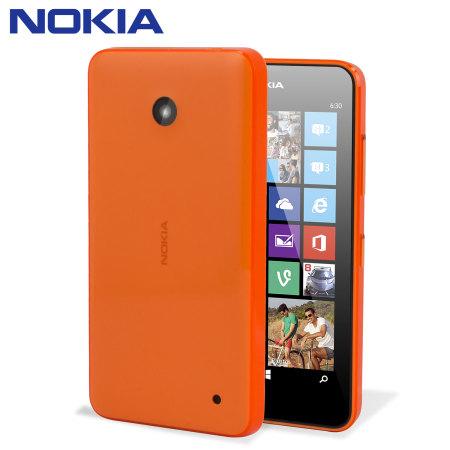 coque officielle nokia lumia 635 630 orange. Black Bedroom Furniture Sets. Home Design Ideas