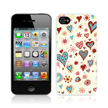 Call Candy iPhone 4S / 4 Hard Back Case - Cross My Heart